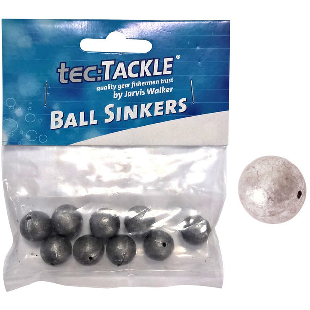 Jarvis Walker Tec Tackle Pre Pack Ball Sinkers