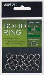 BKK Solid Stainless Steel Rings
