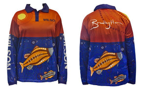 Wilson Sunset Barramundi Brad Hore Fishing Shirt