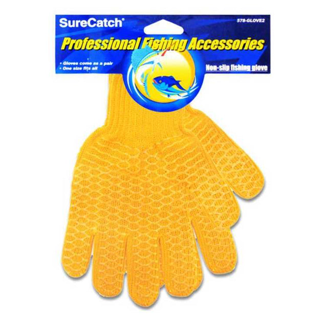 tackle-world-kawana-fishing-store - Sure Catch Non-Slip Fish Handling Glove
