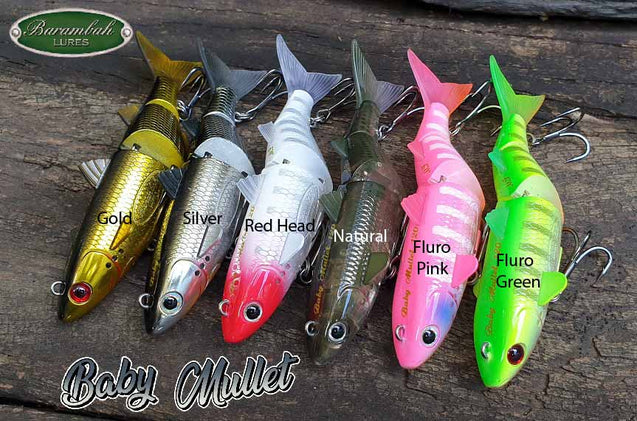 Barambah Lures - Baby Mullet 120mm