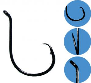 Gamakatsu Black Octopus Circle Hooks