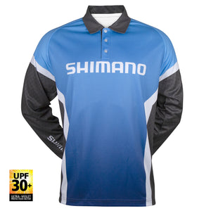 tackle-world-kawana-fishing-store - Shimano Corporate L/S Sublimated Shirt