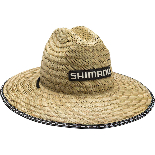 tackle-world-kawana-fishing-store - Shimano Kids Sunseeker Straw Hat - Natural