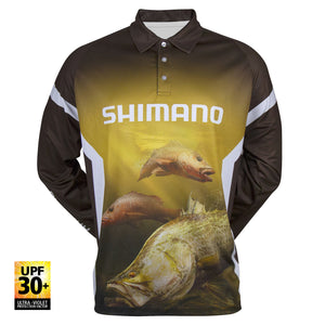 tackle-world-kawana-fishing-store - Shimano Native Series Northern L/S Sublimated Shirt