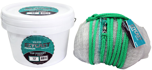 tackle-world-kawana-fishing-store - Wilson Ezycast Premium Top Pocket Mono Cast Nets
