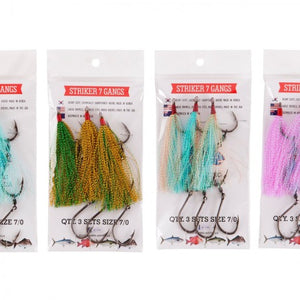 tackle-world-kawana-fishing-store - Elkat Striker 7 Ganged Hooks