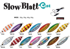 Palms Slow Blatt Cast Jig Wide