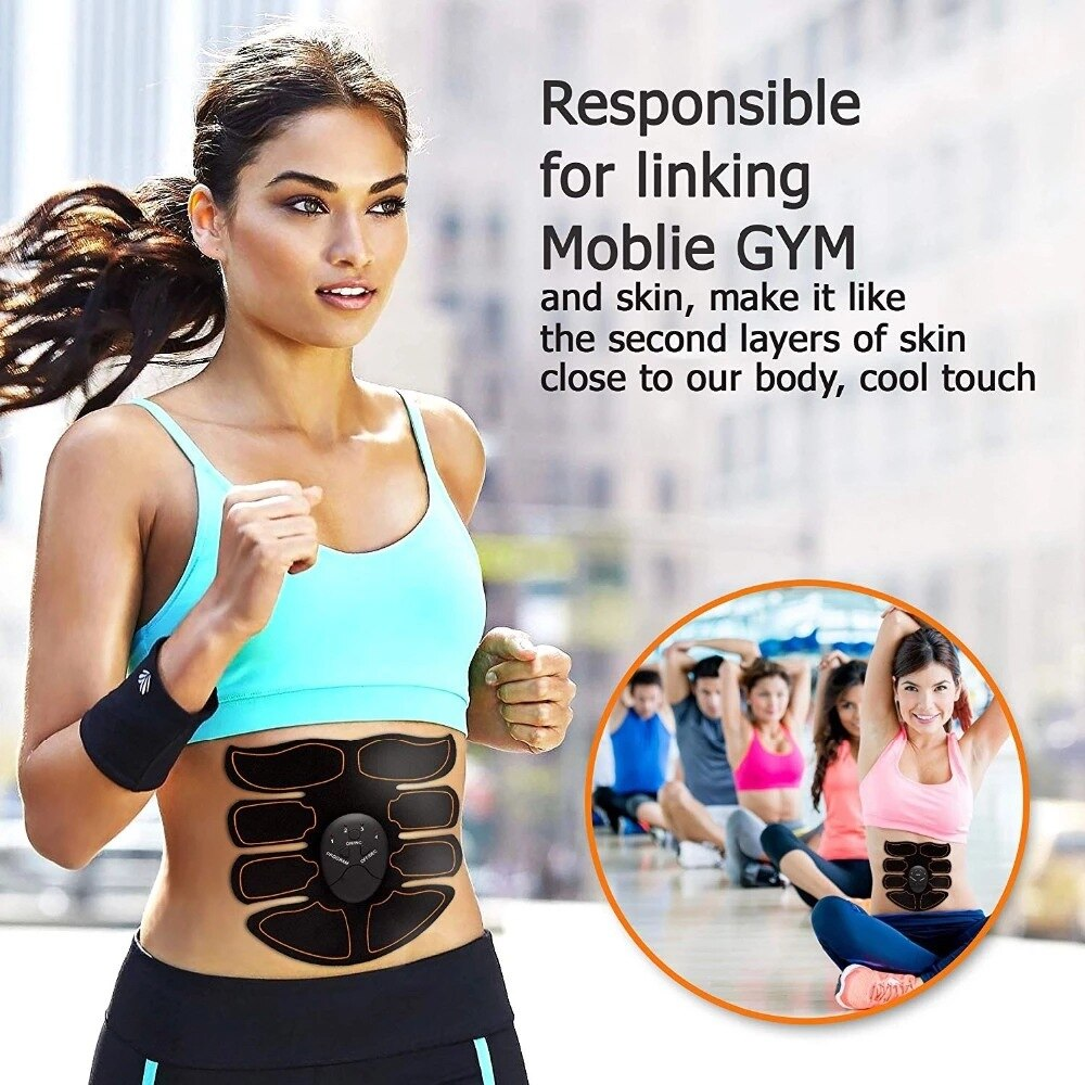 Abdominal Toning Belt Portable Muscle for Trainer Body Muscle - Vaghetti Deals Store