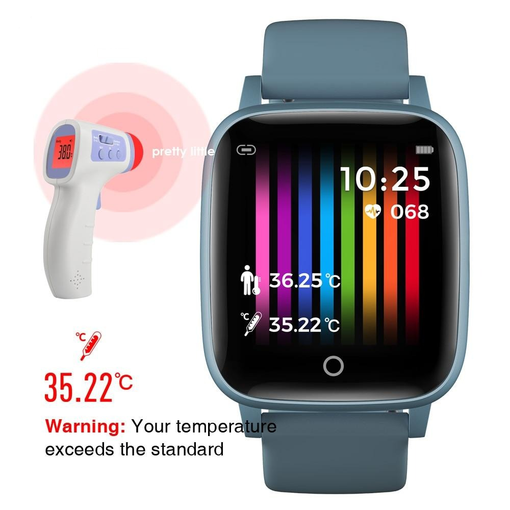 Smartwatch  Body Temperature Measurement Bluetooth Fitness Trackers Smart Wristband - Vaghetti Deals Store