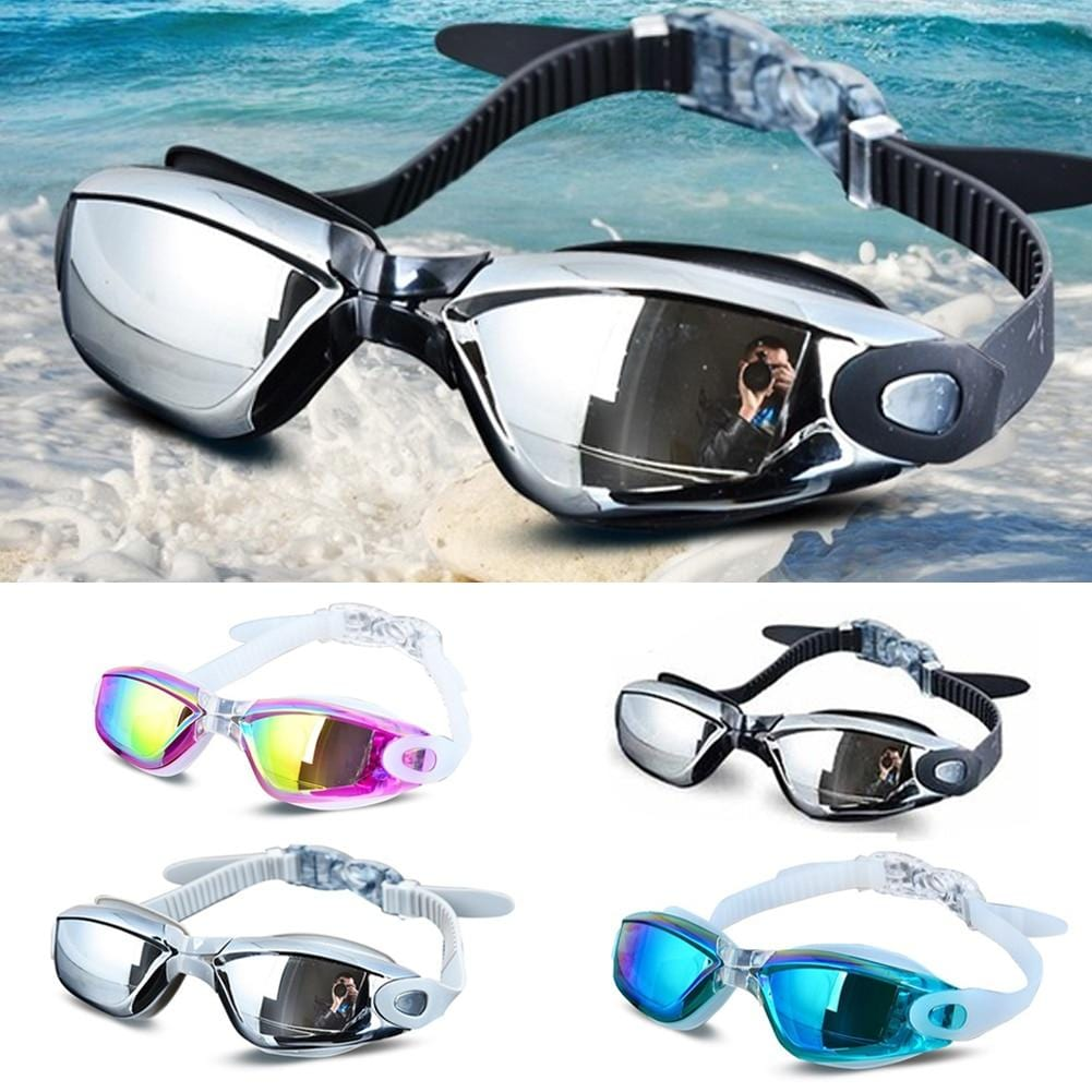 Swimming Goggles No Leaking Anti Fog UV Protection - Vaghetti Deals Store