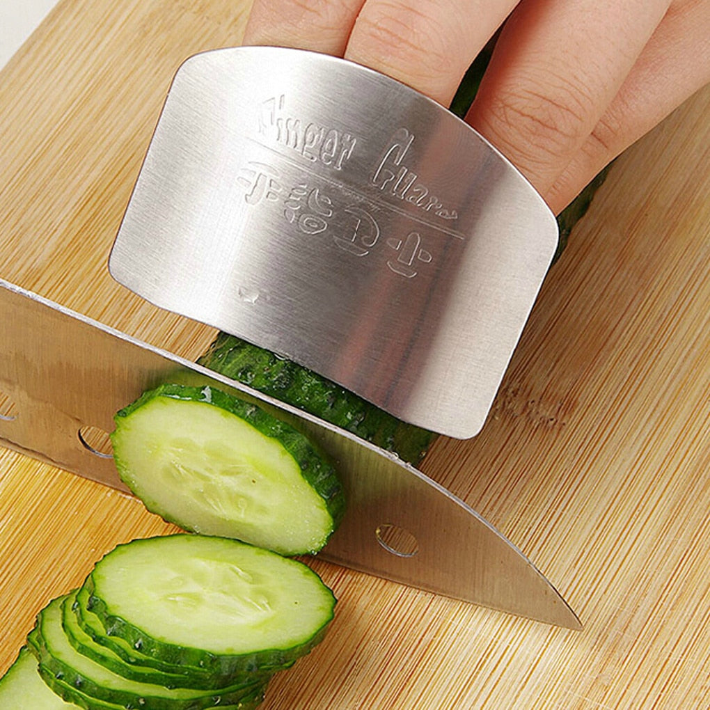 """Proteditti""Chef Stainless steel Finger guard knife cutting protector - Vaghetti Deals Store"