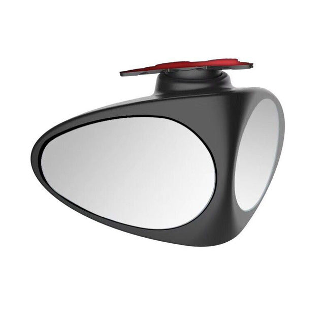 Car Blind Spot Mirror 2 in 1 , Automotive 360 Rotate Adjustable Stick-on Front/Rear View - Vaghetti Deals Store