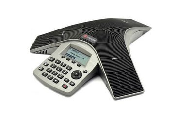 2200-19000-001 - Poly SoundStation Duo Conference Phone, Analog/VoIP - Refurb'd