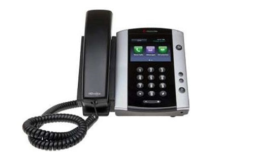2200-48500-019 - Poly VVX 501 Business Media Phone, Skype for Business, PoE - Refurb'd