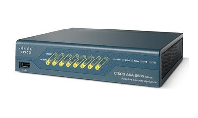 ASA5505-SSL10-K9 - Cisco ASA 5505 Security Appliance - Refurb'd