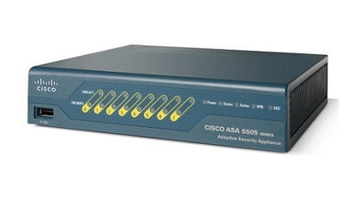 ASA5505-UL-BUN-K9 - Cisco ASA 5505 Security Appliance - Refurb'd