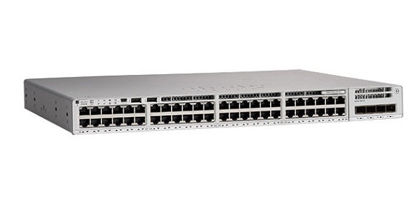 C9200L-48P-4G-A - Cisco Catalyst 9200L Switch, Network Advantage, 48 Gigabit Ethernet PoE+ with 4 1Gig SFP Uplink Ports - New