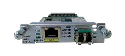 EHWIC-1GE-SFP-CU - Cisco Enhanced High-Speed WAN Interface Card - Refurb'd
