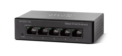 SF110D-05-NA - Cisco SF110D-05 Unmanaged Small Business Switch, 5 Port 10/100 - Refurb'd