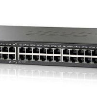 SG250-50-K9-NA - Cisco SF250-50 Smart Switch, 48 Gigabit/2 SFP Combo Ports - New