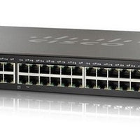 SG350X-48P-K9-NA - Cisco SG350X-48P Stackable Managed Switch, 48 Gigabit PoE+ with 2 10Gig/10Gig SFP+ Combo and 2 SFP+ Ports, 382w PoE - Refurb'd