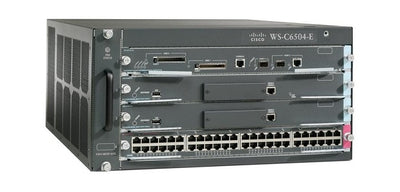 VS-C6504E-S720-10G - Cisco Catalyst 6504E Network Switch Chassis - Refurb'd