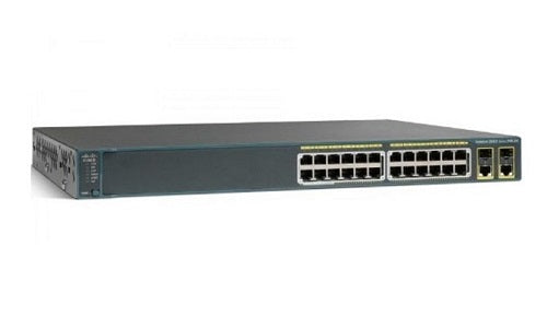 WS-C2960-24PC-S - Cisco Catalyst 2960 Network Switch - Refurb'd