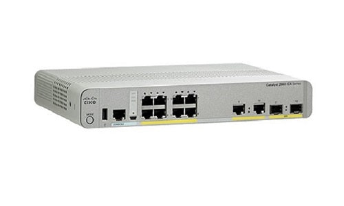 WS-C2960CX-8TC-L - Cisco Catalyst 2960CX Compact Network Switch - New