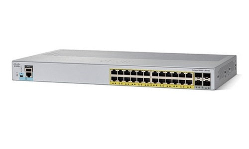 WS-C2960L-24PS-LL - Cisco Catalyst 2960L Network Switch - Refurb'd