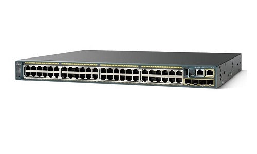 WS-C2960S-48LPD-L - Cisco Catalyst 2960S Network Switch - New
