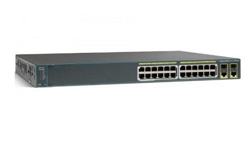 WS-C2960+24PC-S - Cisco Catalyst 2960-Plus Network Switch - New