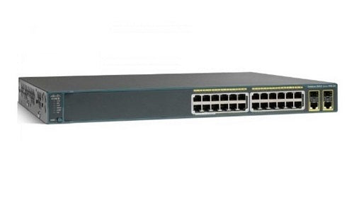 WS-C2960+24TC-L - Cisco Catalyst 2960-Plus Network Switch - Refurb'd