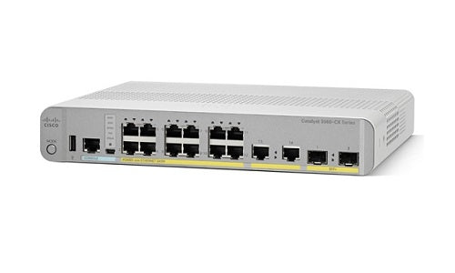 WS-C3560CX-12PC-S - Cisco Catalyst 3560CX Network Switch - New