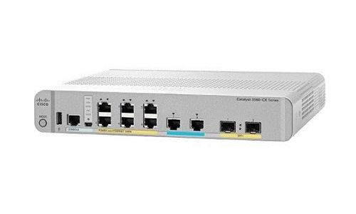 WS-C3560CX-8XPD-S - Cisco Catalyst 3560CX Network Switch - New