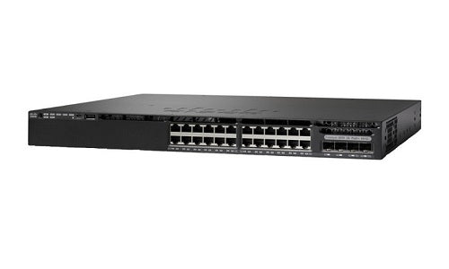 WS-C3650-24PD-E - Cisco Catalyst 3650 Network Switch - New