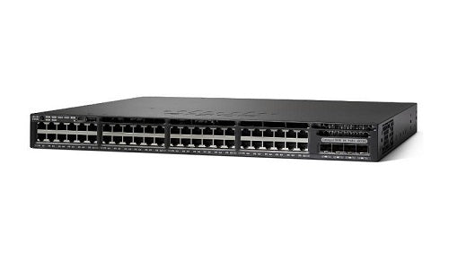 WS-C3650-48FD-L - Cisco Catalyst 3650 Network Switch - New