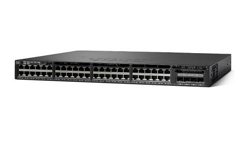 WS-C3650-48FQ-E - Cisco Catalyst 3650 Network Switch - New