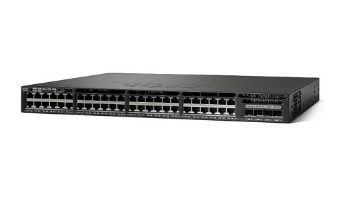 WS-C3650-48FS-E - Cisco Catalyst 3650 Network Switch - New