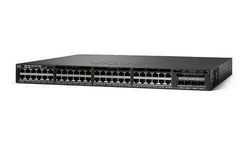 WS-C3650-48PD-E - Cisco Catalyst 3650 Network Switch - New