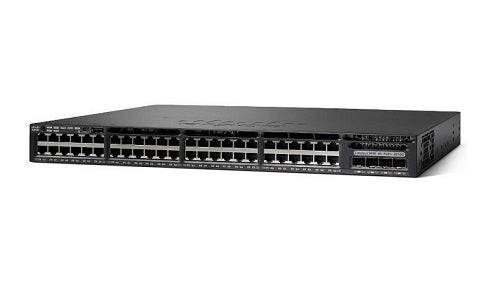 WS-C3650-48TD-S - Cisco Catalyst 3650 Network Switch - New