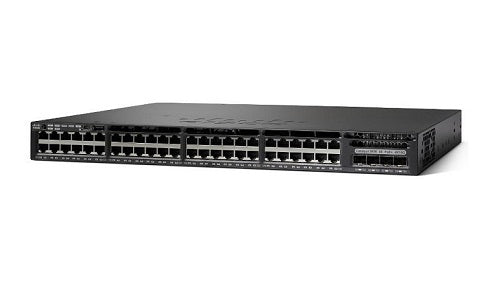 WS-C3650-48TQ-L - Cisco Catalyst 3650 Network Switch - New