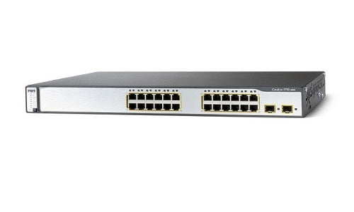 WS-C3750V2-24TS-S - Cisco Catalyst 3750V2 Network Switch - Refurb'd