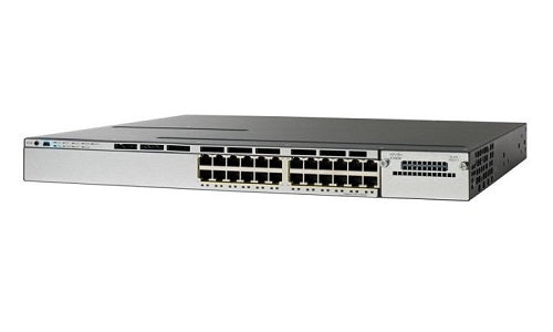 WS-C3750X-24P-E - Cisco Catalyst 3750X Network Switch - Refurb'd
