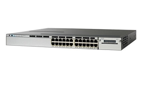 WS-C3750X-24U-E - Cisco Catalyst 3750X Network Switch - New