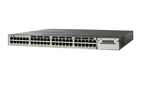 WS-C3750X-48P-S - Cisco Catalyst 3750X Network Switch - Refurb'd