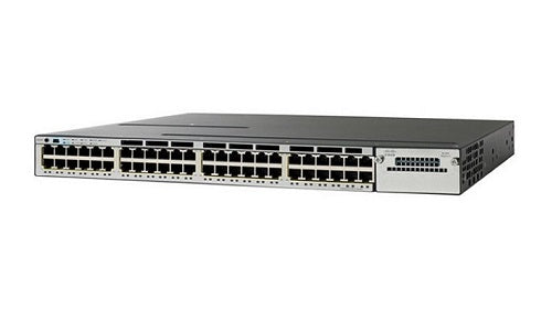 WS-C3750X-48T-S - Cisco Catalyst 3750X Network Switch - New