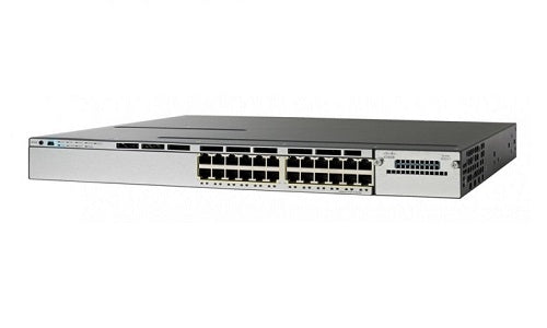 WS-C3850-24P-E - Cisco Catalyst 3850 Network Switch - Refurb'd