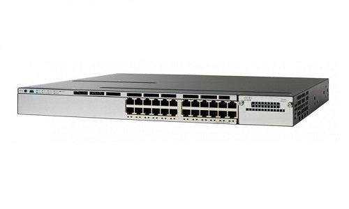 WS-C3850-24P-S - Cisco Catalyst 3850 Network Switch - New