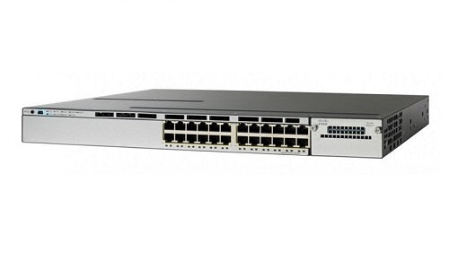 WS-C3850-24UW-S - Cisco Catalyst 3850 Network Switch Bundle - New